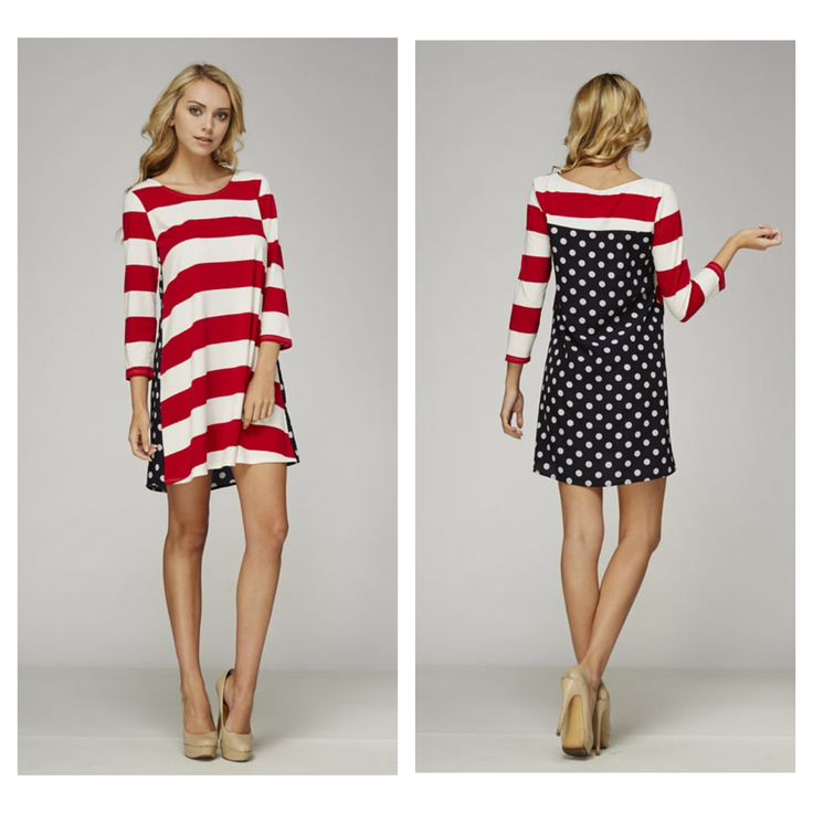 American Flag Tunic Dress for 4th of July | Fashionallo