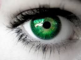 Only about 2% of the world population has green eyes. It's one of the rarest types of eye color. They're most common among people of Northern European descent, because they're also genetically predisposed to produce less melanin...this green eyed lady just learned something new!