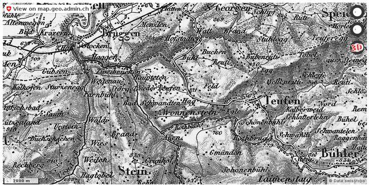 Teufen (AR) Historische Karten Routenplaner http://ift.tt/2sHO7nX #karten #swiss