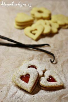 Recept na rodinou osvědčené vánoční cukroví - linecké.