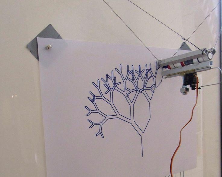 Drawbot - Ein Hackerspace-Projekt im Museum für Kommunikation FFM