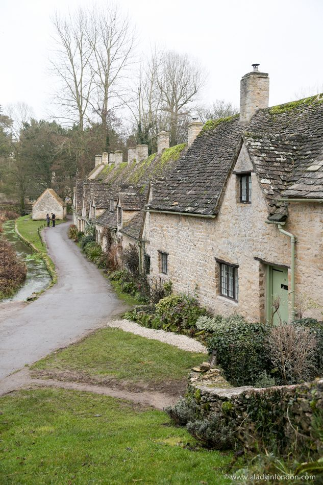 Arlington Row, Bibury is one of the most photographed places in England's Cotswolds