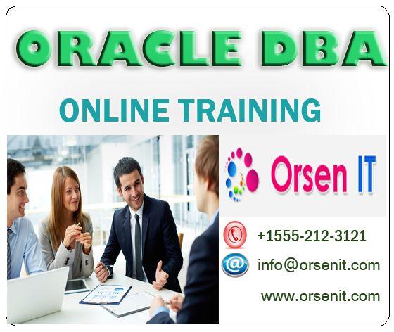 oracle dba online training,dba training in usa
