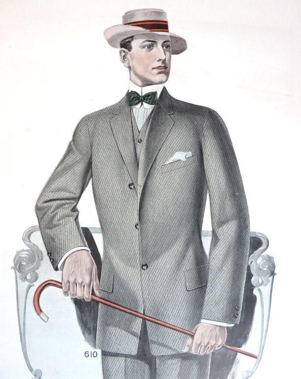 J.L. TAYLOR & CO 1912 Oversized illustrated swatch card | 1stdibs.com