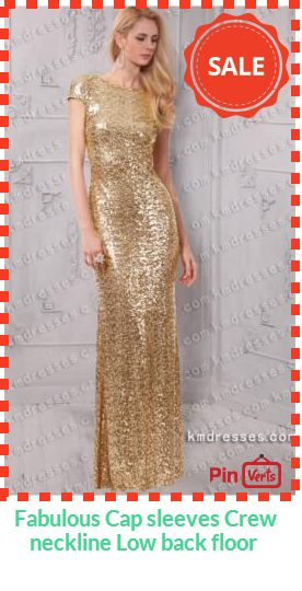 Get ready to see the Hollywood lights flashing when you walk in wearing this sequin gown .This formal gown is a beautiful option for prom, military ball,homecoming or any special occasion.  Check out at http://pinverts.com/Fabulous-Cap-sleeves-Crew-neckline-Low-back-floor_839jdyd