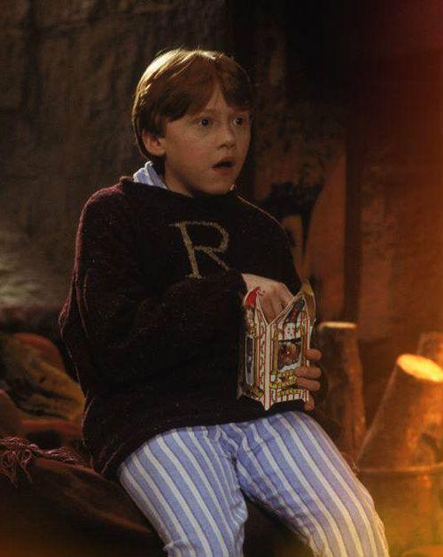 Ron at Christmas