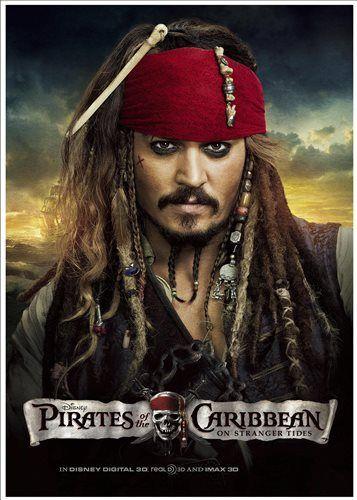Poster: Piratas Do Caribe (Capitão Jack Sparrow)                                                                                                                                                                                 Mais Descubra 25 Filmes que Mudaram a História do Cinema no E-Book Gratuito em http://mundodecinema.com/melhores-filmes-cinema/