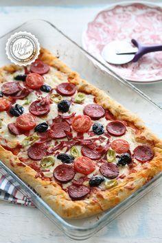 Pratik Pizza – Mutfak Sırları – Pratik Yemek Tarifleri
