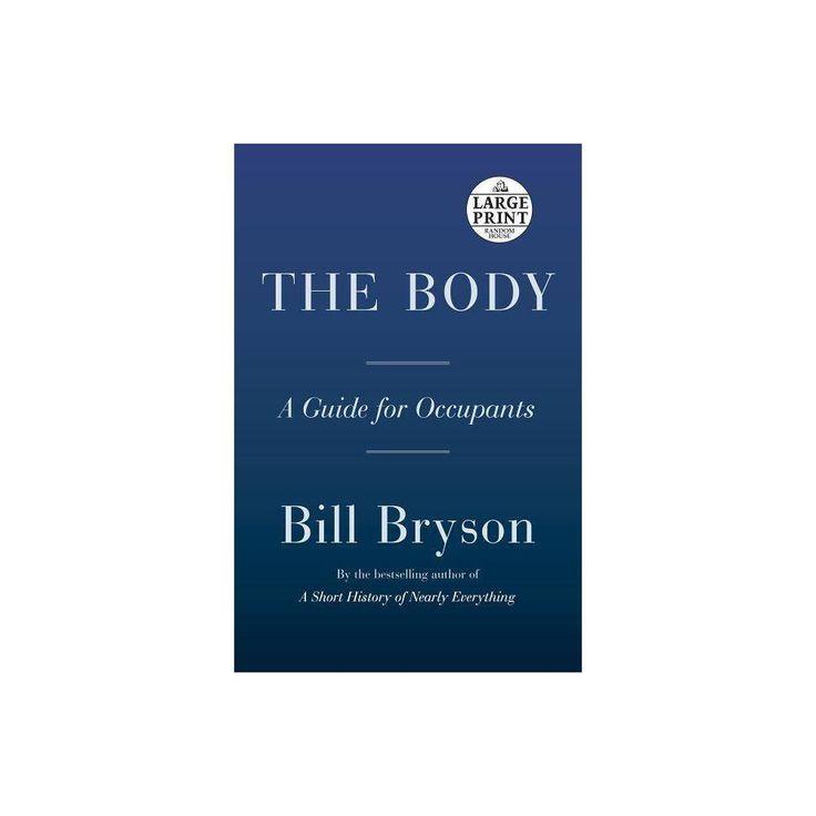 The Body By Bill Bryson Paperback Bill Bryson