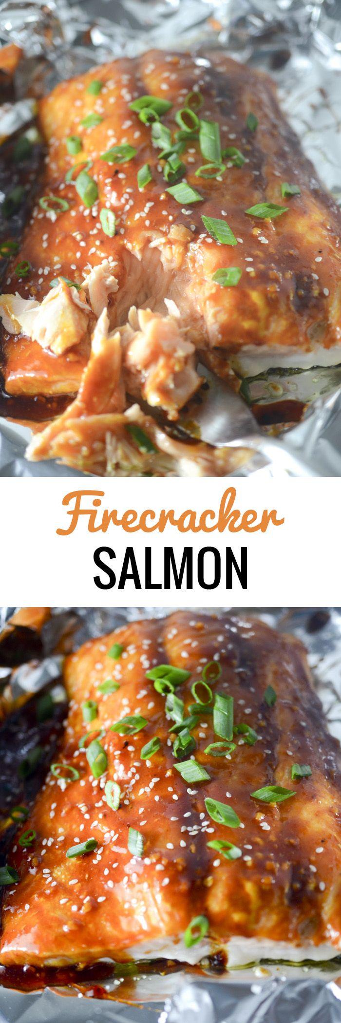 Firecracker Salmon - Recipe Diaries