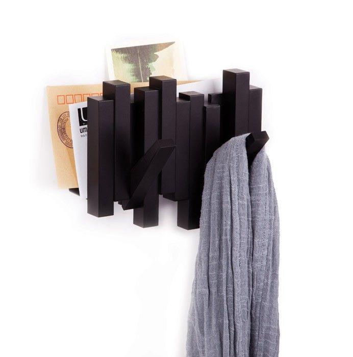 Fabryka Form - Organizer ścienny z wieszakami Sticks - Umbra