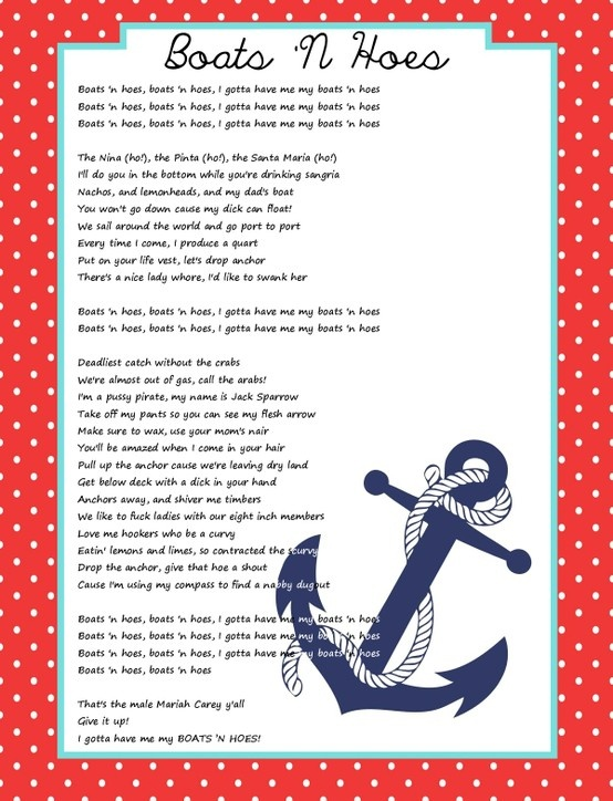 Boats and hoes lyrics - YouTube
