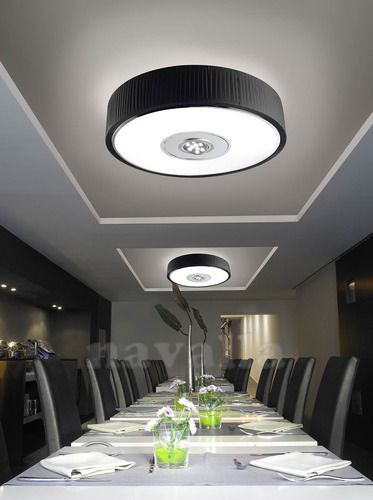 One of most successful LED ceiling fixtures from Spanish producer - LEDS-C4 - illuminates every corner.