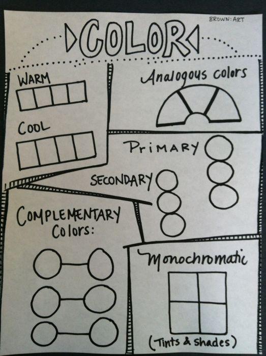 Color worksheet for 5th graders
