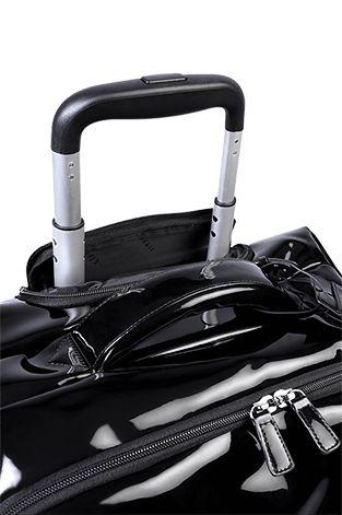 Lipault Plume Vinyle Valise Cabine 4 Roues 55cm Noir