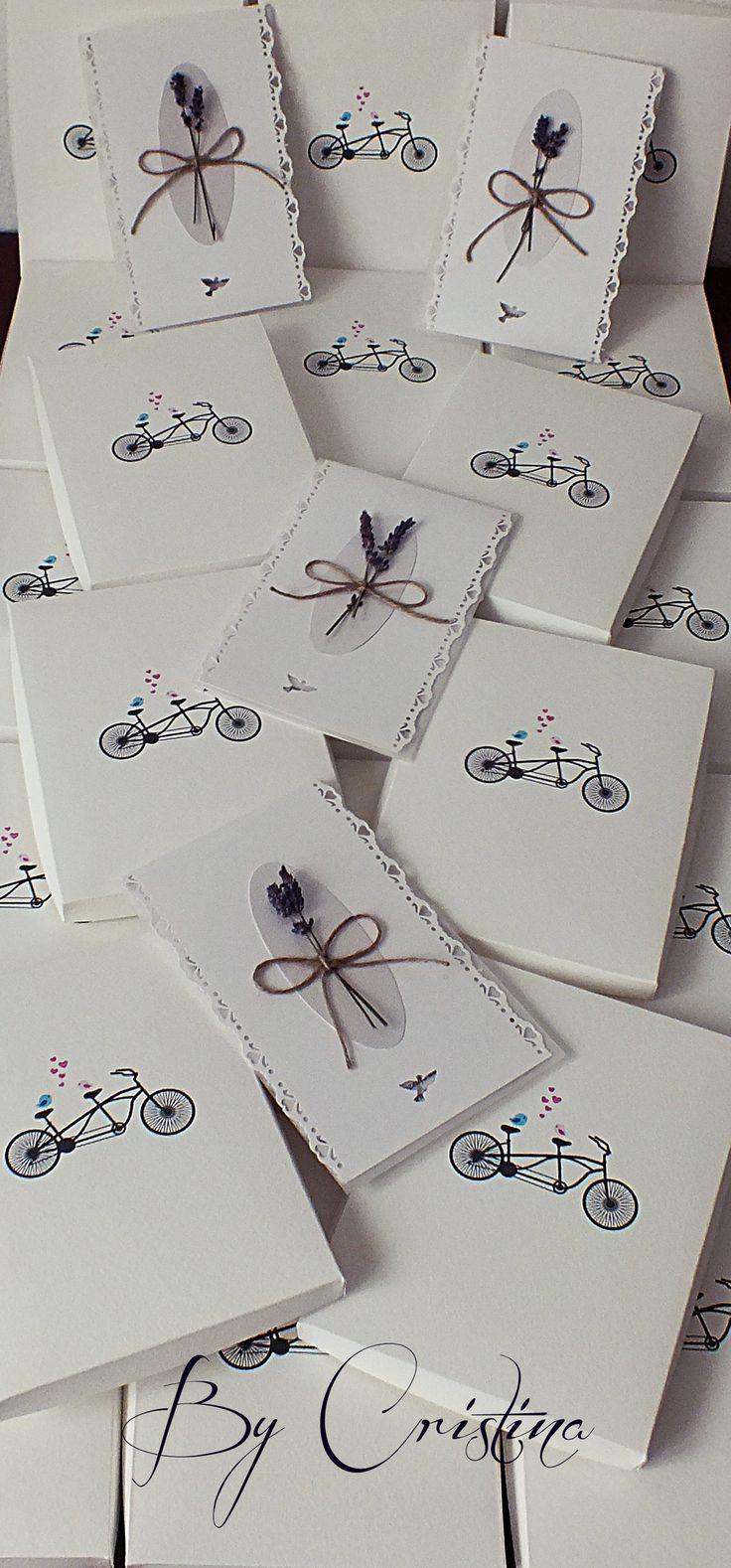 lavender wedding invitations with box