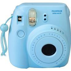 Fuji Instax Mini 8 blau Sofortbildkamera