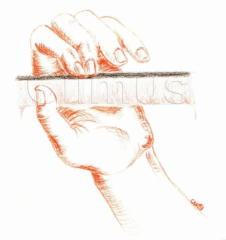 """Hier, je vous ai montré une illustration """"comment poser le premier doigt"""" Aujourd'hui... - les illus de Cilmus"""