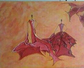 Schilderij met acrylverf