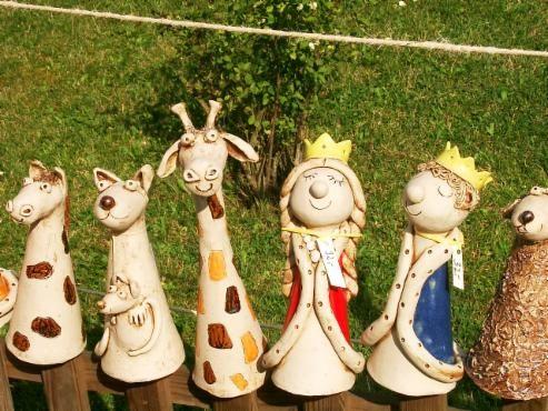Zaungäste - KreaTon - Keramik und Mehr