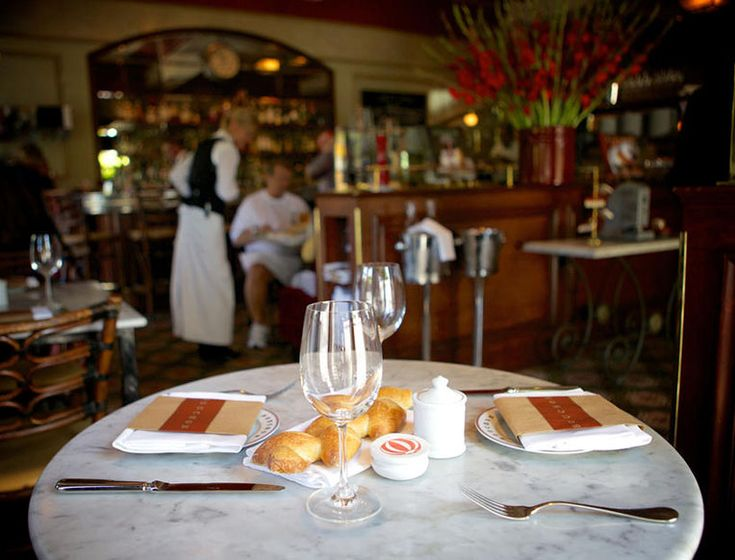 Bouchon l 6534 Washington St, Yountville. Another mandatory stop on the Thomas Keller tour of Napa, Bouchon is the Keller's take on casual French bistro food. It's sort of impossible to call out the best menu items because everything is great. Bonus: they have a late night menu, which can be a game-changer on a long Napa night after too many wine tastings.