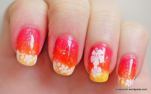 Best 25+ Hawaiian nail art ideas on Pinterest