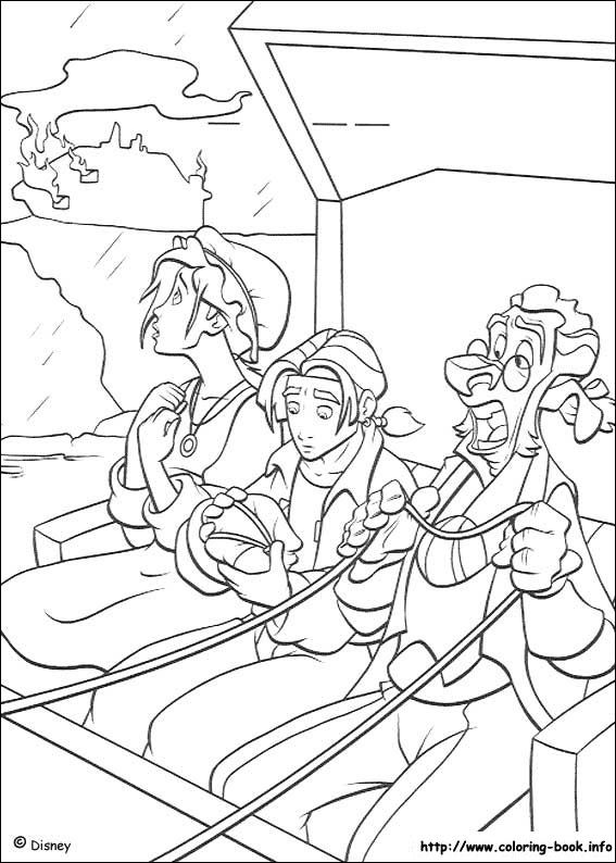 26 best Treasure Planet Coloring Pages images on Pinterest