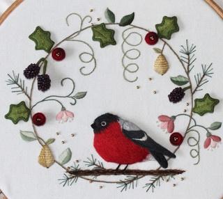 Christmas Wreath by flossbox, via Flickr