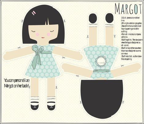 Margot - personalized doll