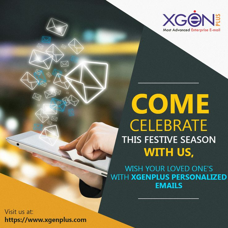 Send personalized emails with Xgenplus enterprise email solution. Try Now at: http://bit.ly/2zBfS5R #xgenplus #enterpriseemailsolution #emailsolution #newyearemails #trynow #buynow