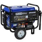 4,400/3,500-Watt Gasoline Powered Electric Start Portable Generator with Wheel Kit