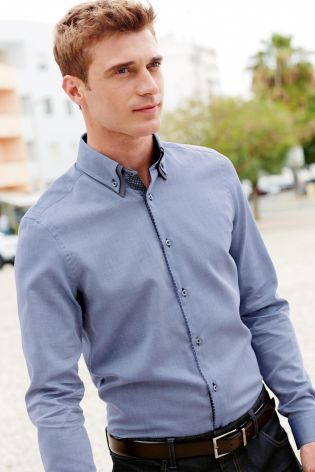 Buy Double Collared Shirt from the Next UK online shop