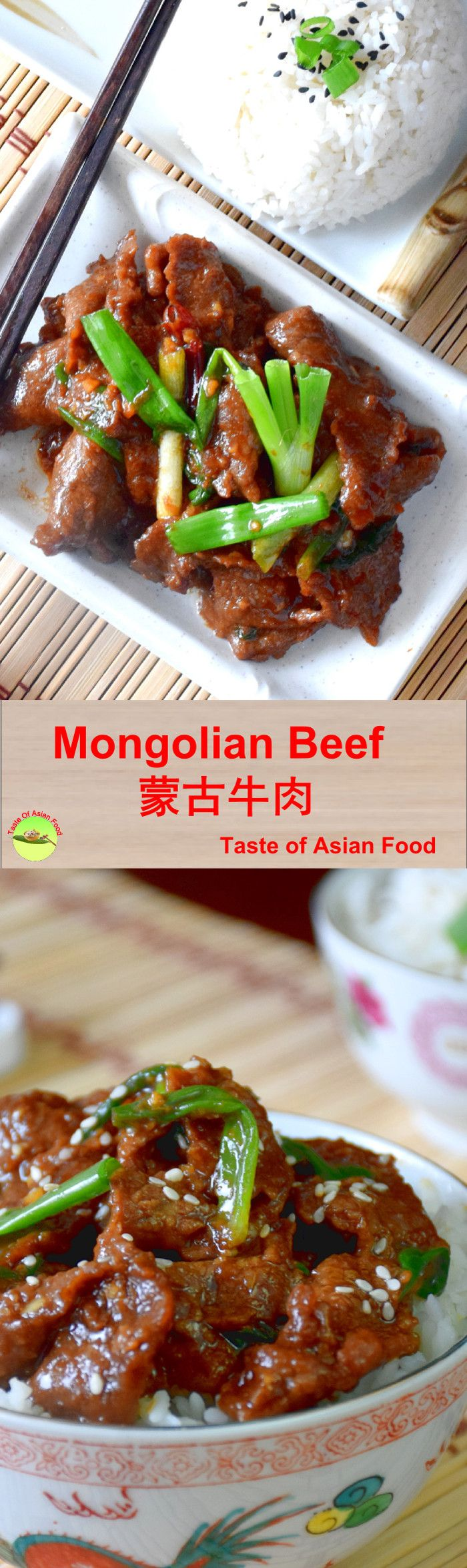 If you think Mongolian beef is Mongolian cuisine, think again.  You won't find Mongolian beef in Mongolia. It was created by American chefs who thought that a cuisine with an exotic name would sell well.  Today, it is among the most famous American Chinese food along with General Tso's Chicken.  Video demonstration and recipe at: http://tasteasianfood.com/mongolian-beef-recipe/