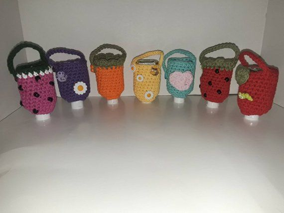 Pin By Happy Hookers Crafts On My Etsy Shop Hand Sanitizer