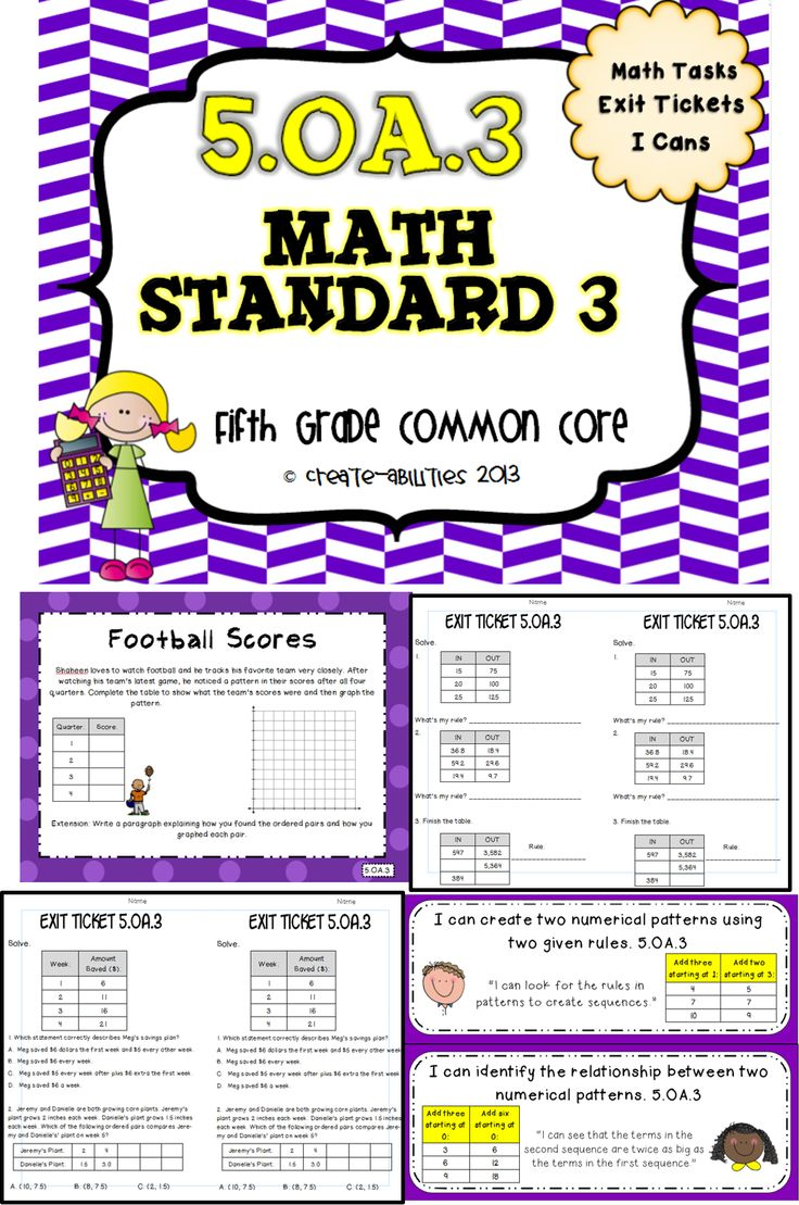 patterns and graphing math tasks and exit tickets exit tickets math and 5th grades. Black Bedroom Furniture Sets. Home Design Ideas