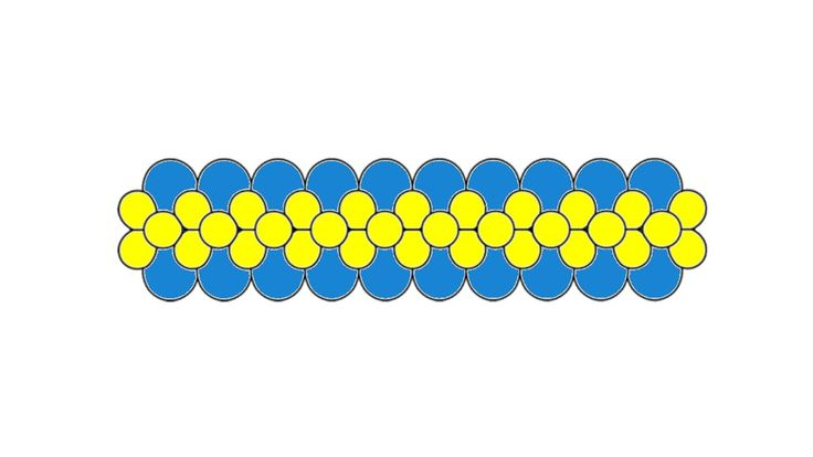 """Плоская гирлянда из воздушных шаров. Голубые воздушные шары 12"""", надуваются до диаметра 25 см. Желтые воздушные шары 9"""" надуваются до диаметра 17 см. Более подробно: http://www.balloons-club.ru/2013/09/21/instruktsii-master-klassy/ploskie-girlyandy"""