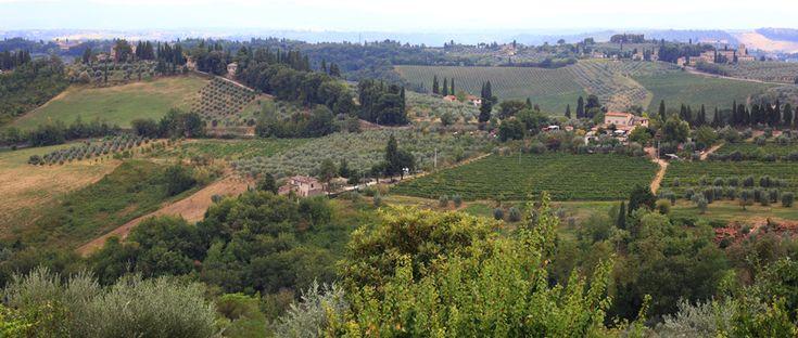 Inspiruje mnie świat - podróż do Toskanii.