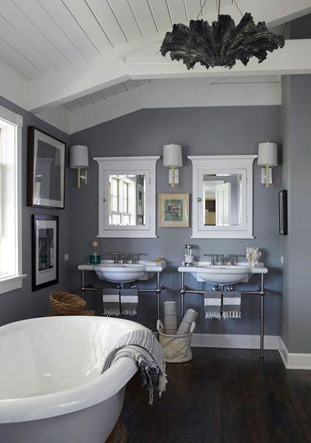 Paint: Farrow and Ball, Manor House Gray