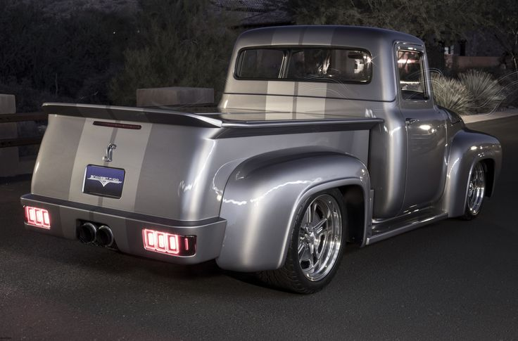 Classic 56 Ford F100 - Snakebit..