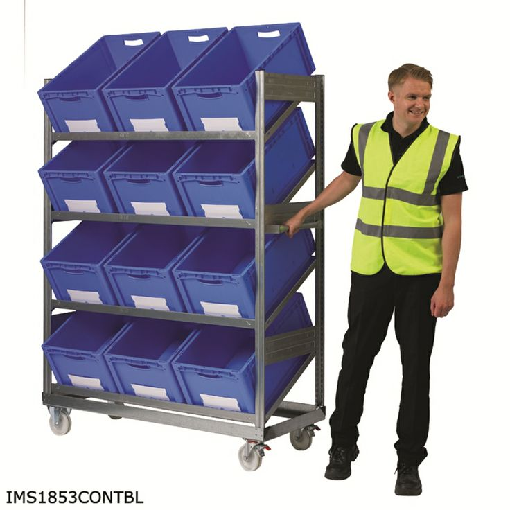 Storage Design Limited - Inclined Mobile Shelving