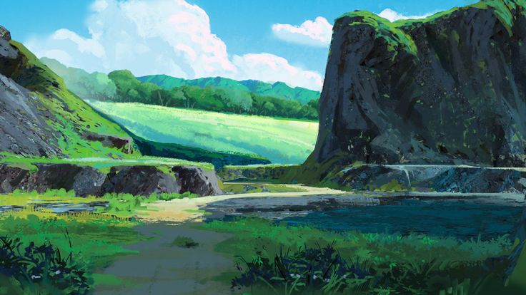 ArtStation - Environment Sketches 2, Mathias Zamęcki