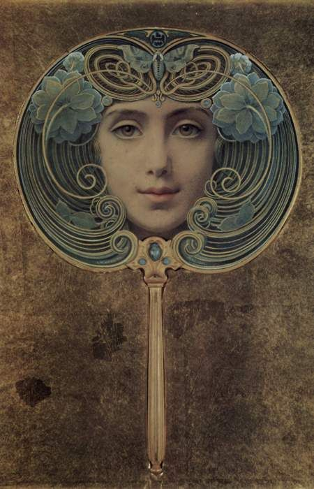 Slika, by Louis Welden Hawkins, 1905