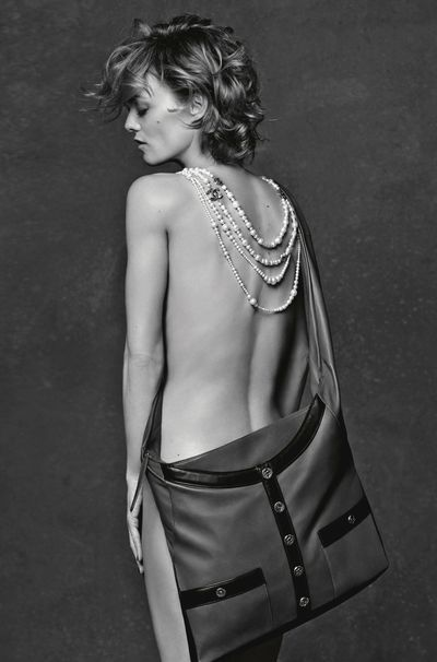 Vanessa Paradis - Courtesy of Karl Lagerfeld for Chanel