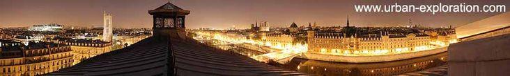 La première ressource d'exploration urbaine - friches, toits de Paris en panoramiques, catacombes, chantier, bunker, tunnel et souterrains underground - Urban Exploration in France - Photographies inédites de notre patrimoine industriel et architectural.