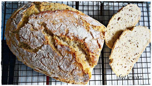 Ewa w kuchni: Chleb pszenny z błonnikiem