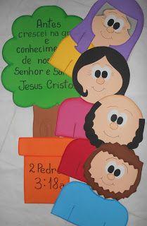 A História de Timóteo traz um ensino muito precioso às crianças. Precisamos ensinar às crianças que assim como Timóteo, depois que elas cre...