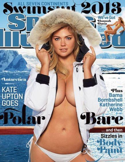 Кейт Аптон украшает обложку ежегодного каталога последние два года. В 2013 году для съемок американк...