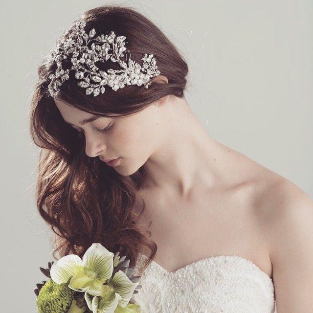 大きめヘッドアクセでエレガント&クラシカル♡花嫁の為の『ボンネ』特集*にて紹介している画像