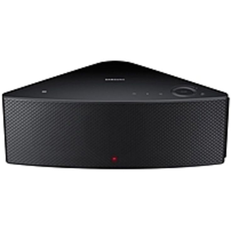 Samsung Shape WAM550 2.1 Speaker System - Wireless Speaker(s) - Black - Dolby Digital Ready, DTS Ready, Surround Sound - Bluetooth - USB - DLNA Certified