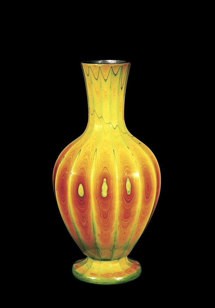 Lithyalin Vase by the Workshop of Friedrich Egermann, about 1830 | Corning Museum of Glass